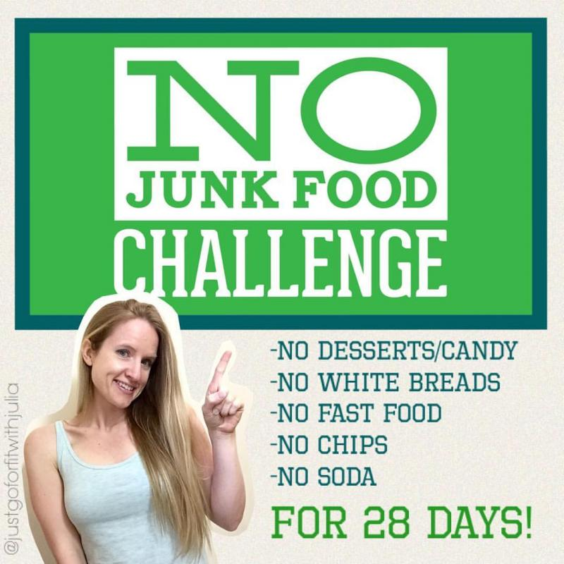 The No Junk Food Challenge!