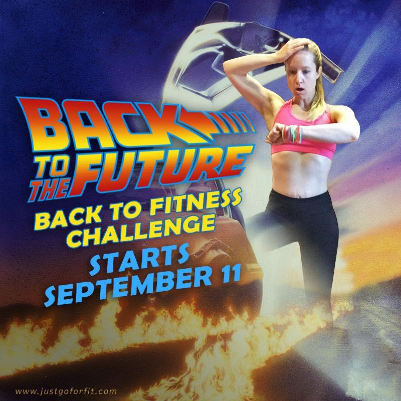 Back to the Future Fitness Challenge